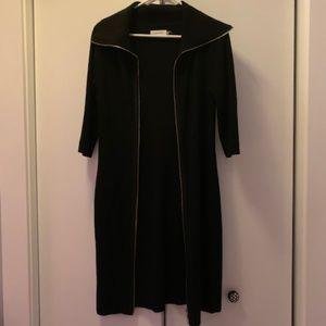 Calvin Klein Long Black Cardigan